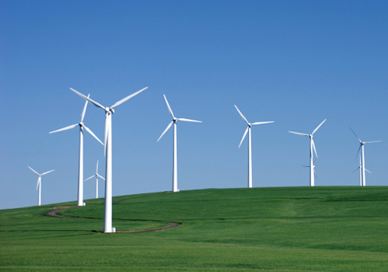 Wind power green web hosting