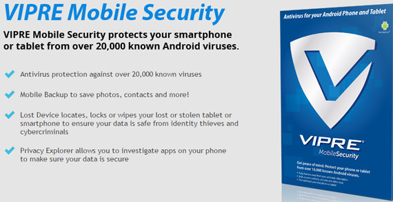 VIPRE Mobile Security
