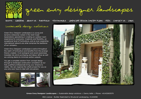 Green Envy Designer Landscapes
