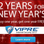 Vipre 2 Years For New Years Sale