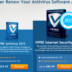 VIPRE 1 Year or PC Lifetime Discount