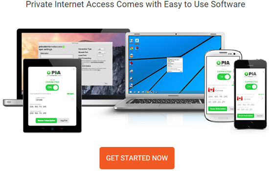 Private Internet Comes With Easy To Use Software